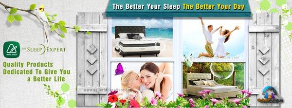promosi airland spring bed di galleria furniture bandung