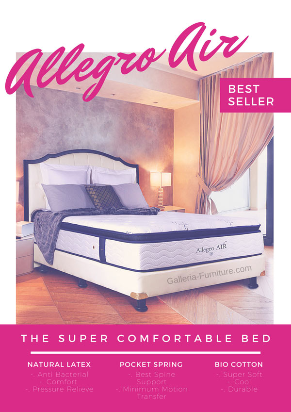 Springbed Latex Bagus Allegro Air