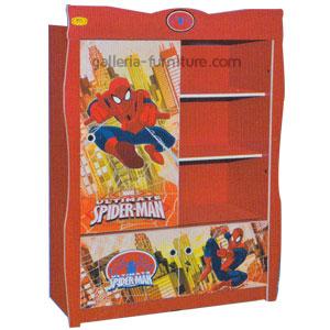 Lemari Anak Bagus Lucu Spiderman