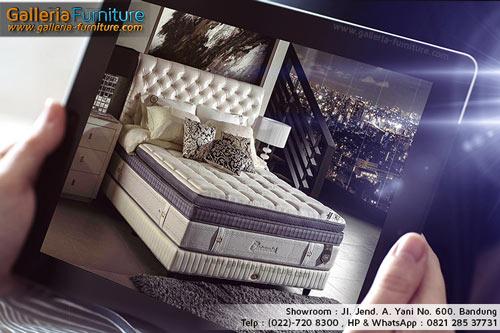 Harga dan Gambar Kasur Spring Bed Eliite Continental