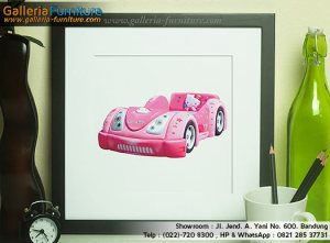 Harga Spring Bed BIGLAND Hello Kitty Car