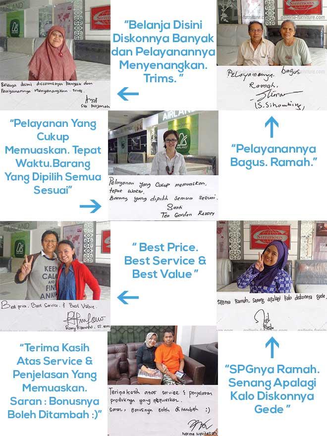 Toko Spring Bed Paling Murah dan Ramah di Bandung