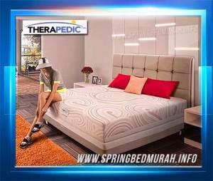 Review, Gambar, Daftar Harga Spring Bed Therapedic Backsense