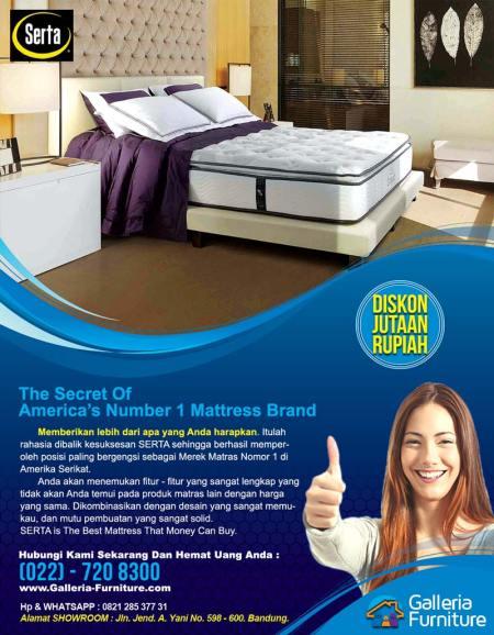 Toko Jual Kasur Spring Bed Serta Compact Harga Murah
