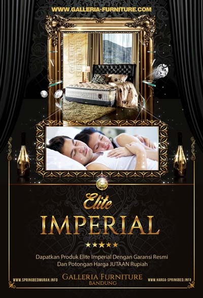 Jual Beli Spring Bed Elite Imperial Murah