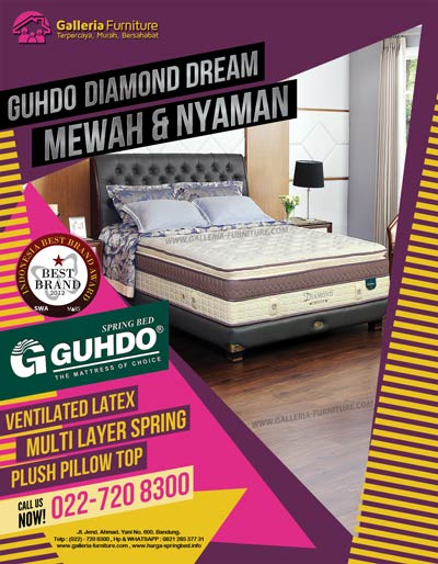 Katalog Gambar Harga Guhdo Bed Diamond Dream