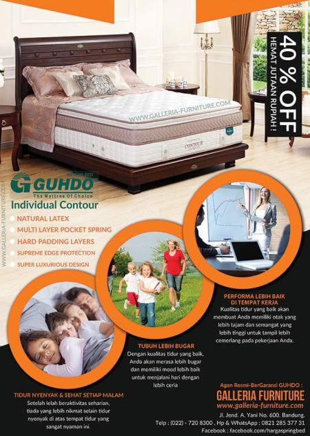 Harga Guhdo - Merk Spring Bed Terbaik