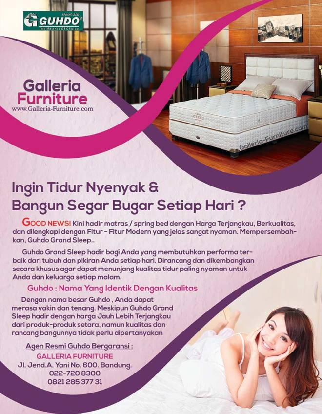 Harga Springbed Guhdo Grand Sleep