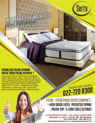 Kasur Tempat Tidur Serta Compact