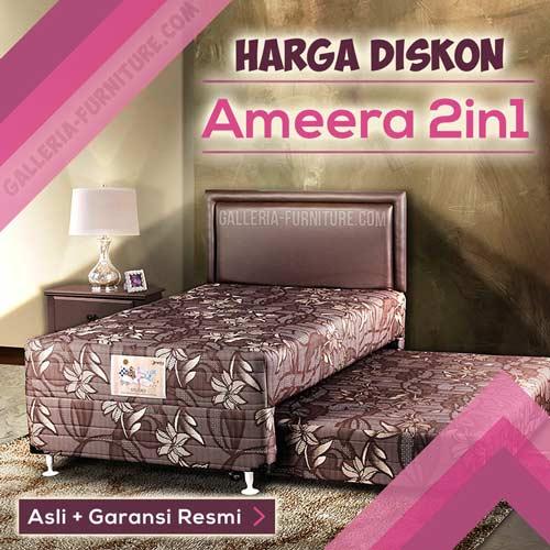 Harga Tempat Tidur Anak Murah Ameera 2in1