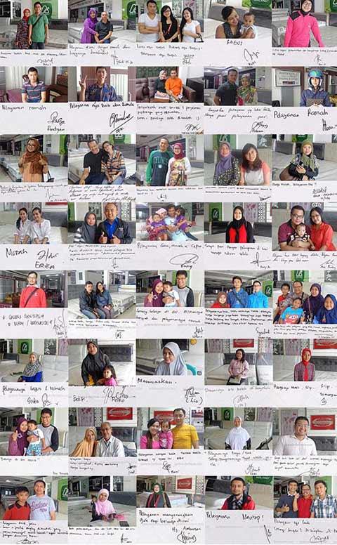 Testimoni Grosir Springbed Bandung