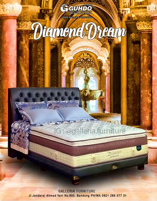 Harga Kasur Spring Bed Guhdo Diamond Dream